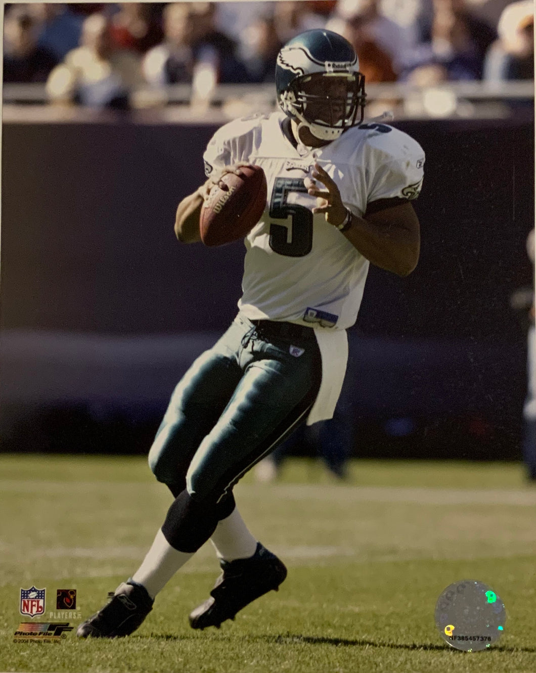Donavan Mcnabb 8x10 Eagles Photo