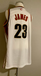 Lebron James Cleveland Caveliers Authentic NBA Jersey