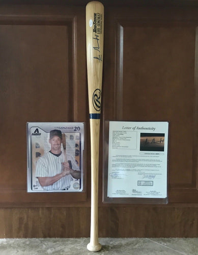 Luis Gonzalez Arizona Diamondbacks autographed Big Stick Bat JSA Letter Of Auth