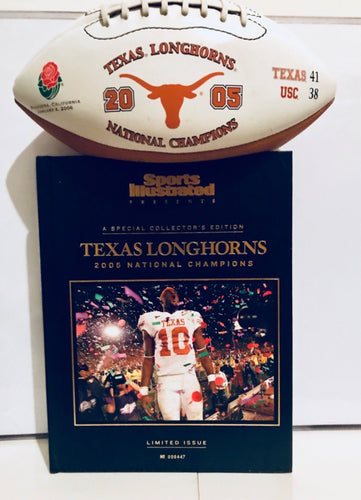 Sports Illustrated Texas 05 National Champs Collectors
