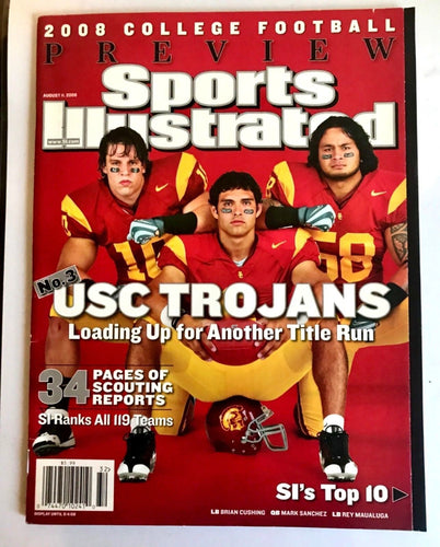 Sports Illustrated 08' College Football Preview USC Loading Up For Another Title