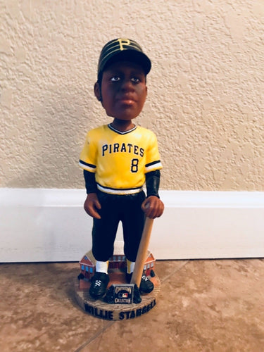 Wilie Stargell Pirates Forever Collectibles Legends Of The Diamond Bobble Head