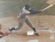 Ernie Banks Chicago Cubs signed 11x14 photo incl 512 HR Inscrpt /