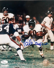 Gale Sayers Chicago Bears autographed 8x10 photo JSA Certificate Of Authenticity