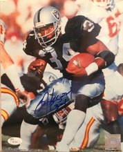 Bo Jackson Raiders Autographed/Signed 8x10 photo JSA Certificate of Authenticity