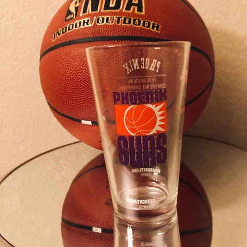 Phoenix Suns Pint glass Legends Collection 1976 Team ( Brand New in Box)
