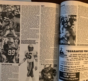 Street and Smith Magazine 1983 College Yearbook( Heisman) Mike Rozier Cover