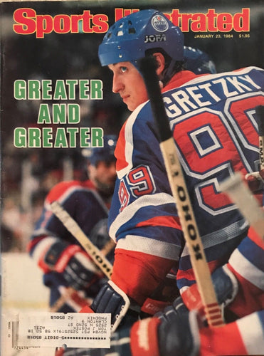 Wayne Gretzky Sports illustrated Edmonton Oilers