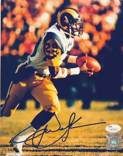 Eric Dickerson LA Rams  Autographed 8 x10 photo/ JSA Certificate of Authenticity