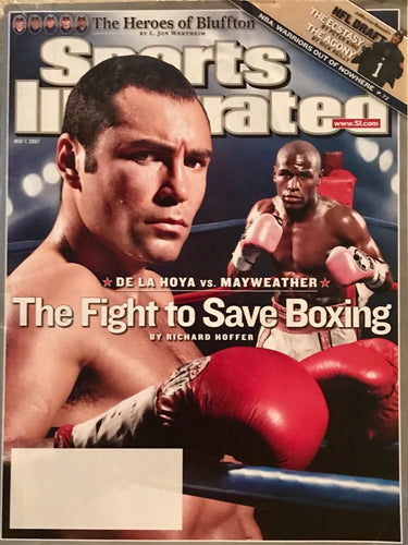 Sports Illustrated Mayweather/De La Hoya Cover 5/7/2007 No Label Mint Condition