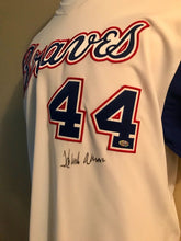 Hank Aaron Signed M&N 1974 Atlanta Braves Jersey / JSA Letter of Auth (WOW!!)