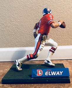 "Very Rare John Elway Denver Broncos 12"" Mcfarlane / Series 11 /  Orange Jersey"