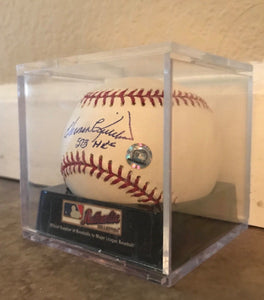 Harmon Killebrew Signed  Baseball srip 573 Home runs w Cert of Auth from MLB !!