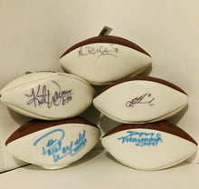 Paul Warfield Miami Dolphins Autographed Football with Script