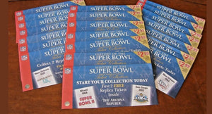 1980 Super Bowl XIV (14) Replica Ticket