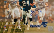 Ottis Anderson autographed 8x10 Giants Super Bowl Photo w Cert of Auth
