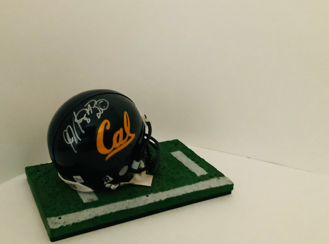 JJ Arrington University of California Autographed Mini Helmet