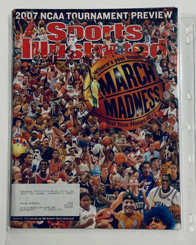 Sports Illustrated March Madness 2007 NCAA Tournament Preview 03/19/2007