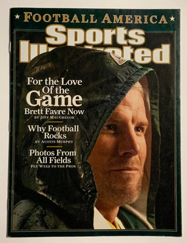 Brett Favre Green Bay Packers Sports Illustrated Magazine For The Love of The Game 12/05/2006