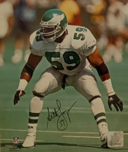 Seth Joyner Philadelphia Eagles Autographed 8x10 photo