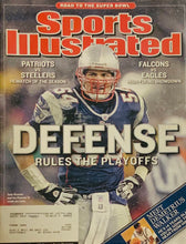 Tedy Bruschi New England Patriots Sports Illustrated 01/25/2005
