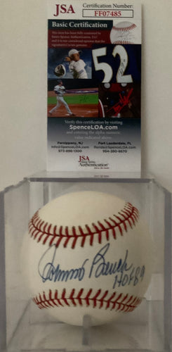 Johnny Bench Autographed Baseball with Script / JSA Cert of Auth