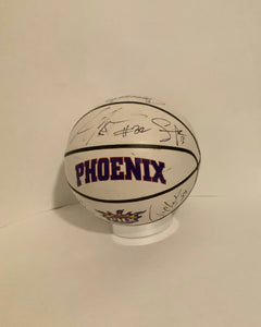 Phoenix Suns Legends Autographed Basketball