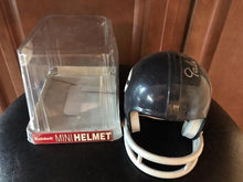 Gale Sayers Chicago Bears signed mini Helmet Throwback (2Bar)  WOW!!!