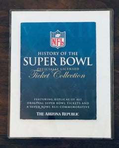 1996 Super Bowl XXX (30) Replica Ticket