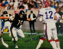 Steve Mcmichael autographed 8x10 Bears photo with Cert of Auth