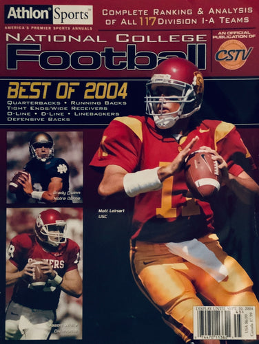 Athlon Sports Magazine 2004 College Football Preview