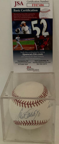 Steve Garvey autographed Baseball includes script 1974 NL MVP/ With JSA Cert