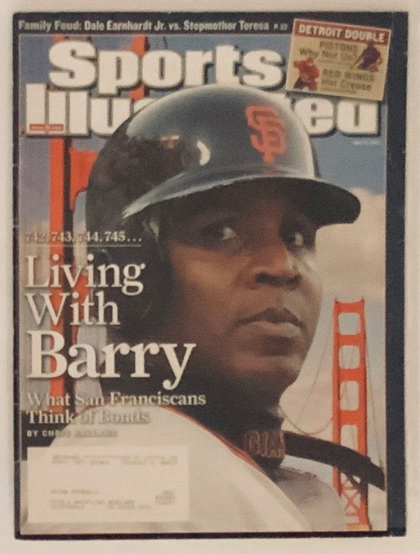 Barry Bonds San Francisco Giants Sports Illustrated 05/21/2007