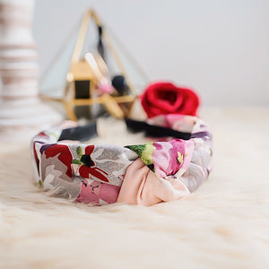 THE CHERRY BLOSSOM SILK HEADBANDS