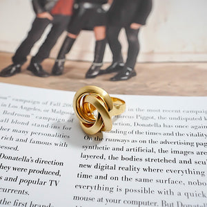 THE JANUARY RING IN GOLD
