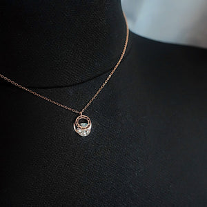 THE VENUS ROSE GOLD NECKLACE
