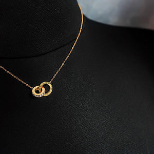 THE INFINITE DIAMOND NECKLACE