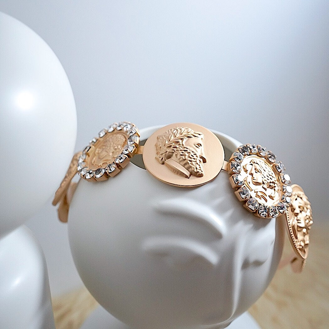 THE MAISON COIN HEADBAND