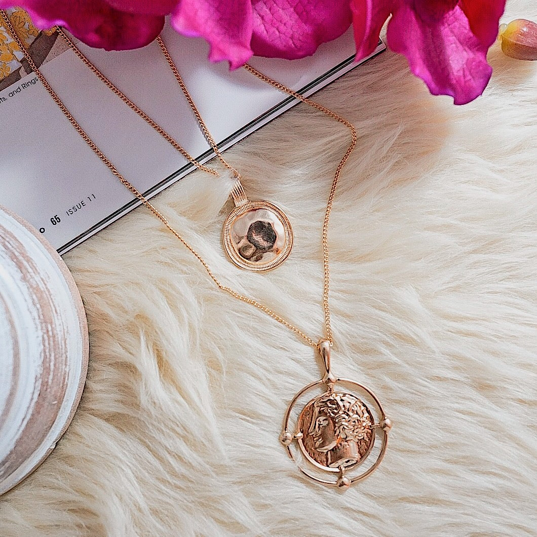 THE COMPASS LAYERED NECKLACE