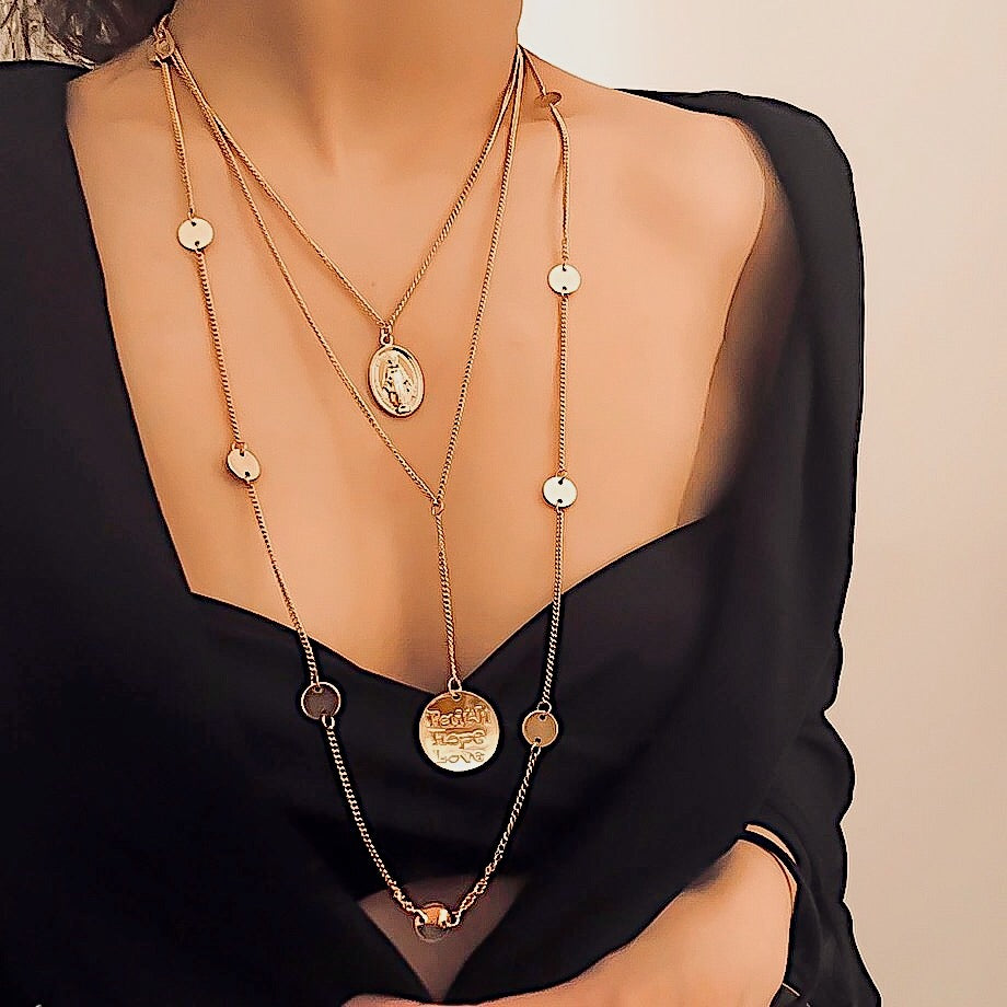 THE MARIA LAYERED NECKLACE
