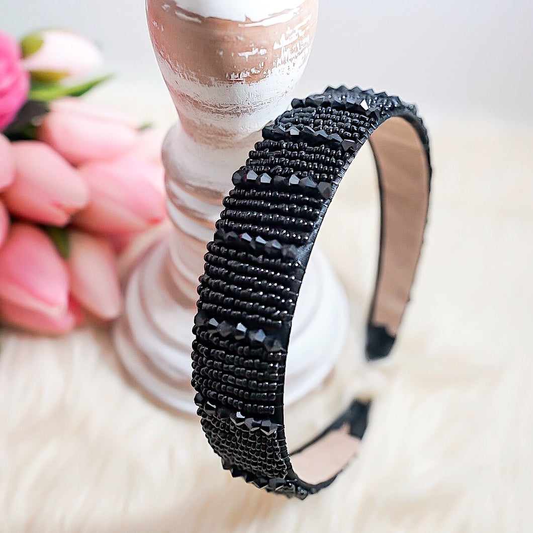 THE THICK RAYCHELLE BEADED HEADBAND