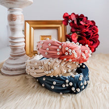 Load image into Gallery viewer, THE AUDREY PEARL HEADBANDS