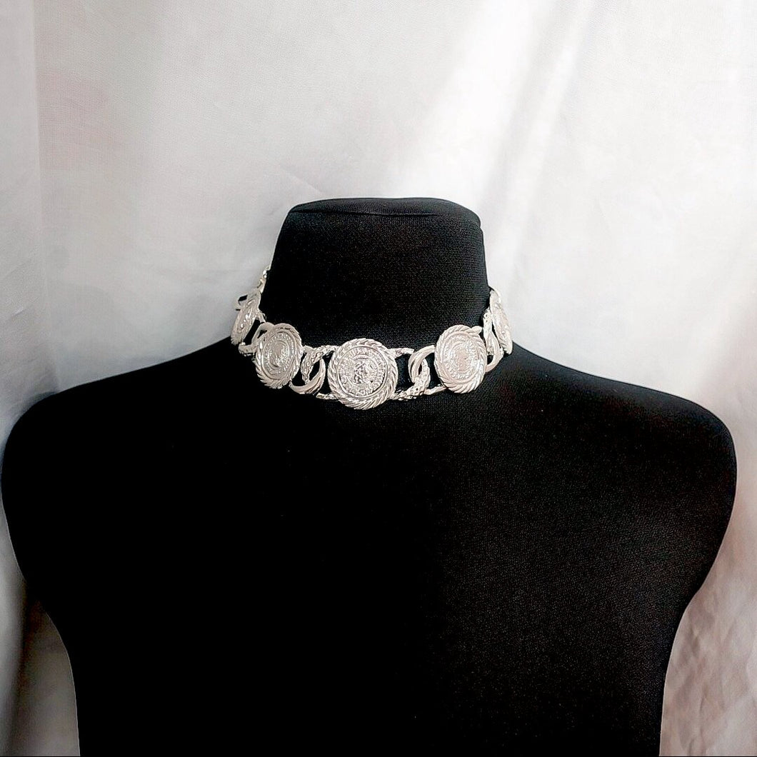 THE SILVER KRONA NECKLACE