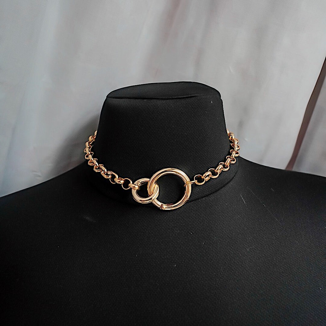 THE GOLD DAYTONA CHAIN NECKLACE