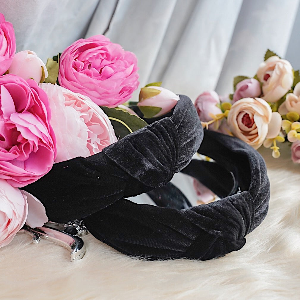 THE STELLA VELVET HEADBANDS
