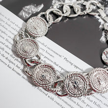 Load image into Gallery viewer, THE SILVER KRONA NECKLACE