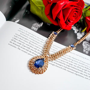 THE ALPHA DIAMOND NECKLACE