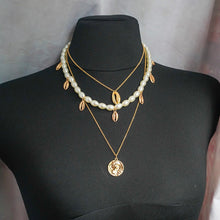 Load image into Gallery viewer, THE MYKONOS LAYERED NECKLACE