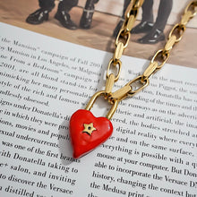 Load image into Gallery viewer, THE RUSTIC HEART NECKLACE