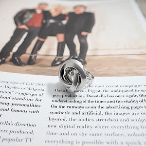THE JANUARY RING IN SILVER